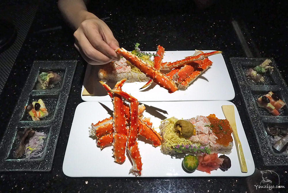 鼎膾 北海道毛蟹專賣店 北海道蟹肉蓋飯5.0版 鱈場蟹豪邁上桌