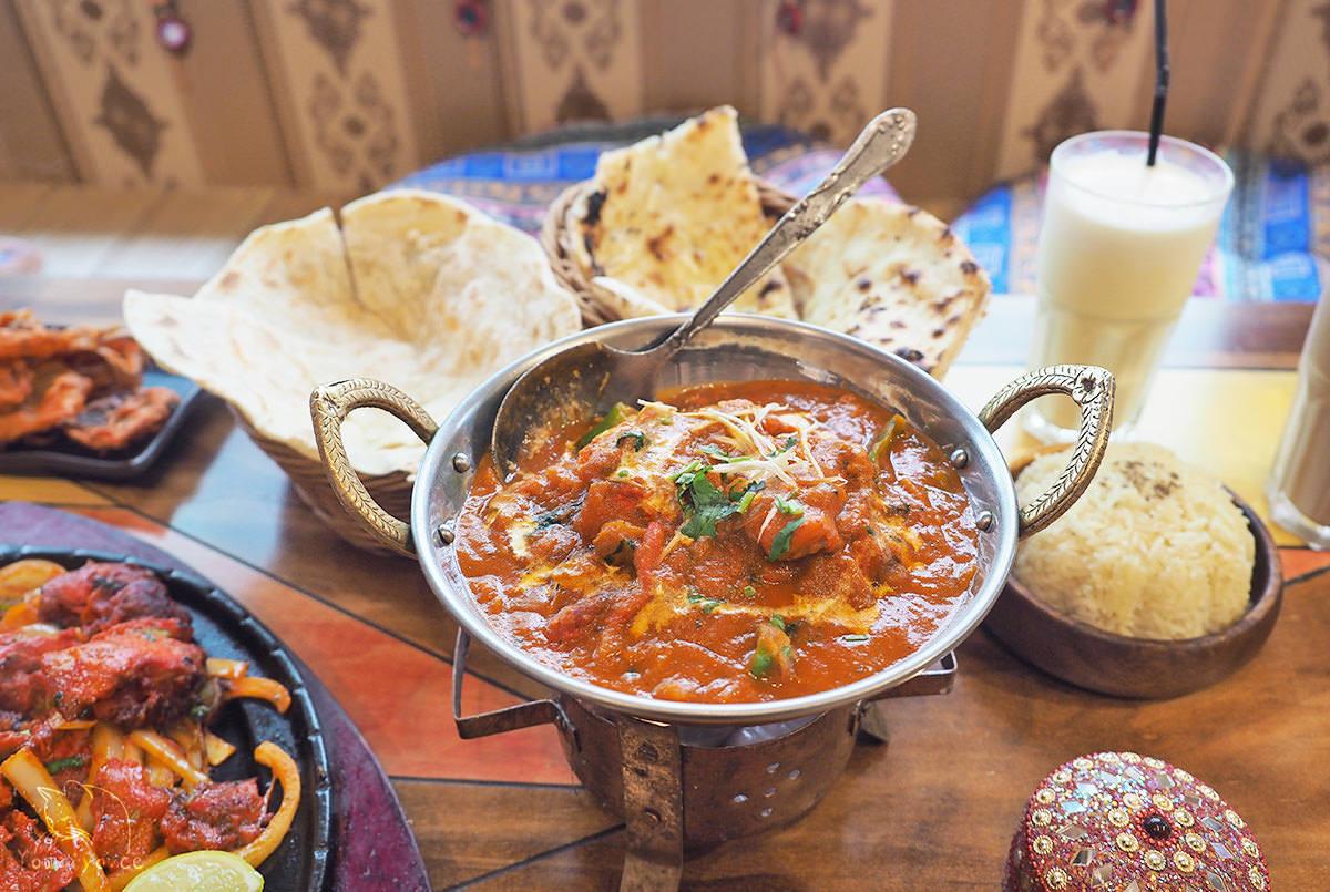 印渡風情 穿上繽紛紗麗品嚐印度在地口味︱師大印度餐廳推薦