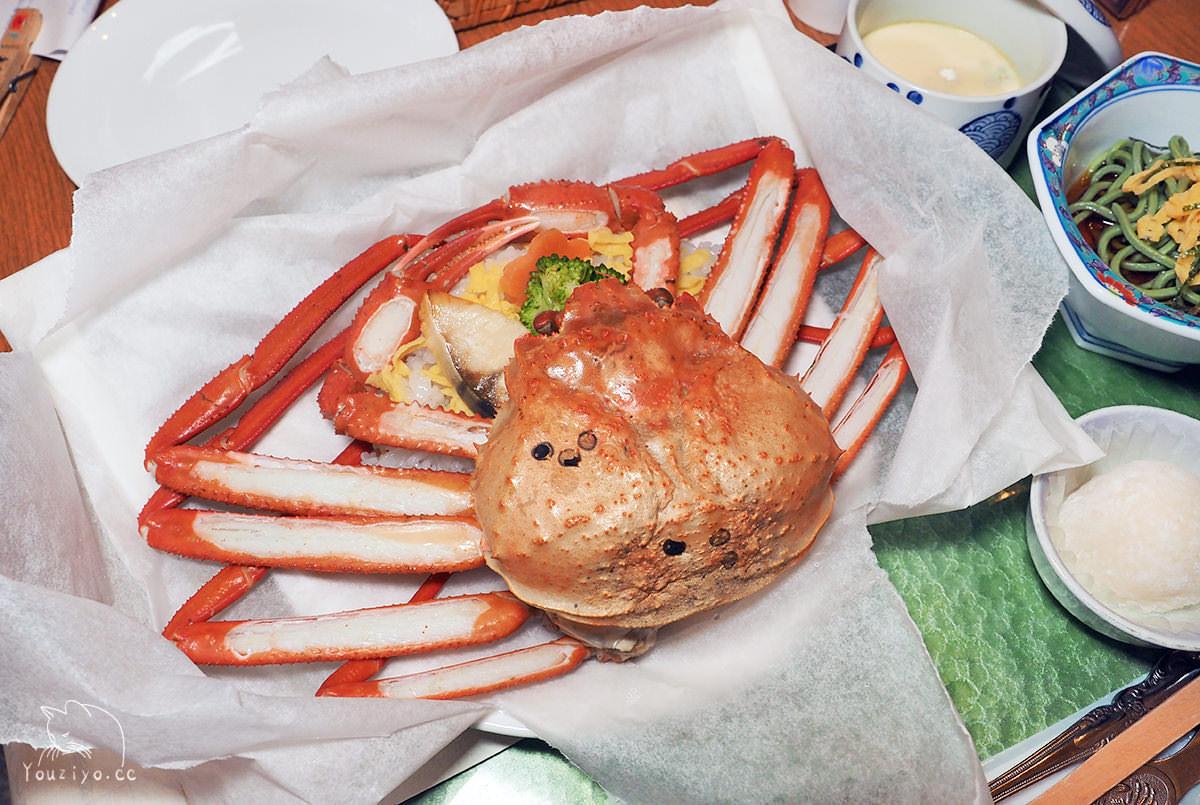 鳥取境港限定!梅崎水產 新かにめし 新蟹飯 1,650円就能吃到整隻松葉蟹!
