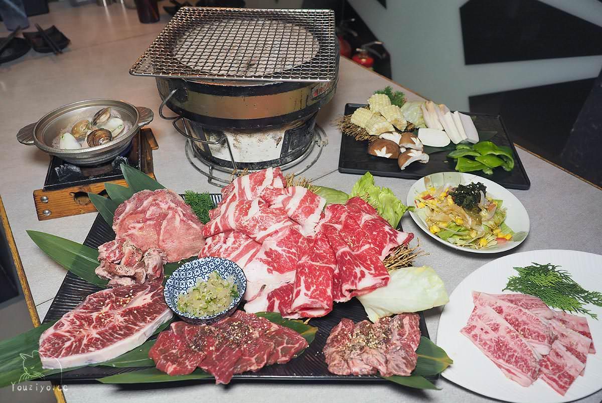 火之舞蓁品燒 和牛放題 東區燒肉吃到飽老字號名店︱頂級和牛海鮮啤酒無限量供應