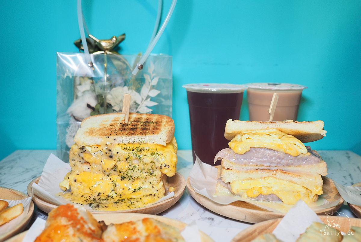 西門町最夯早餐來板橋囉!金花碳烤吐司 超誘人起司瀑布與香甜芋泥
