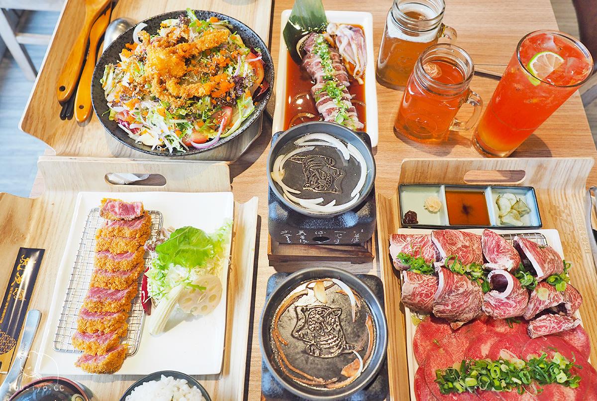 虎次日式炸牛排專門店 桃園統領百貨美食︱炸牛排與日式燒肉雙重美味