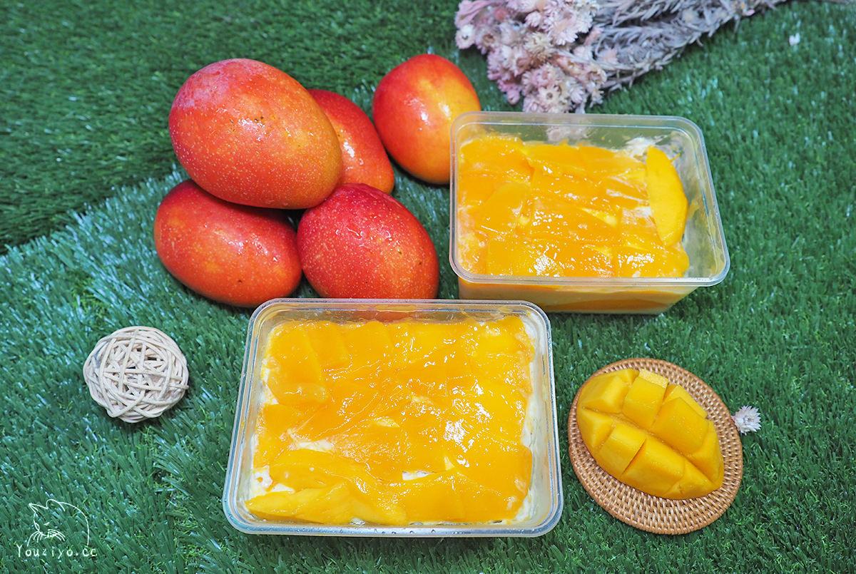 人氣團購甜點 食尚玩家四度造訪!米詩堤甜點王國 四季芒果蛋糕 用滿滿芒果迎接夏天!