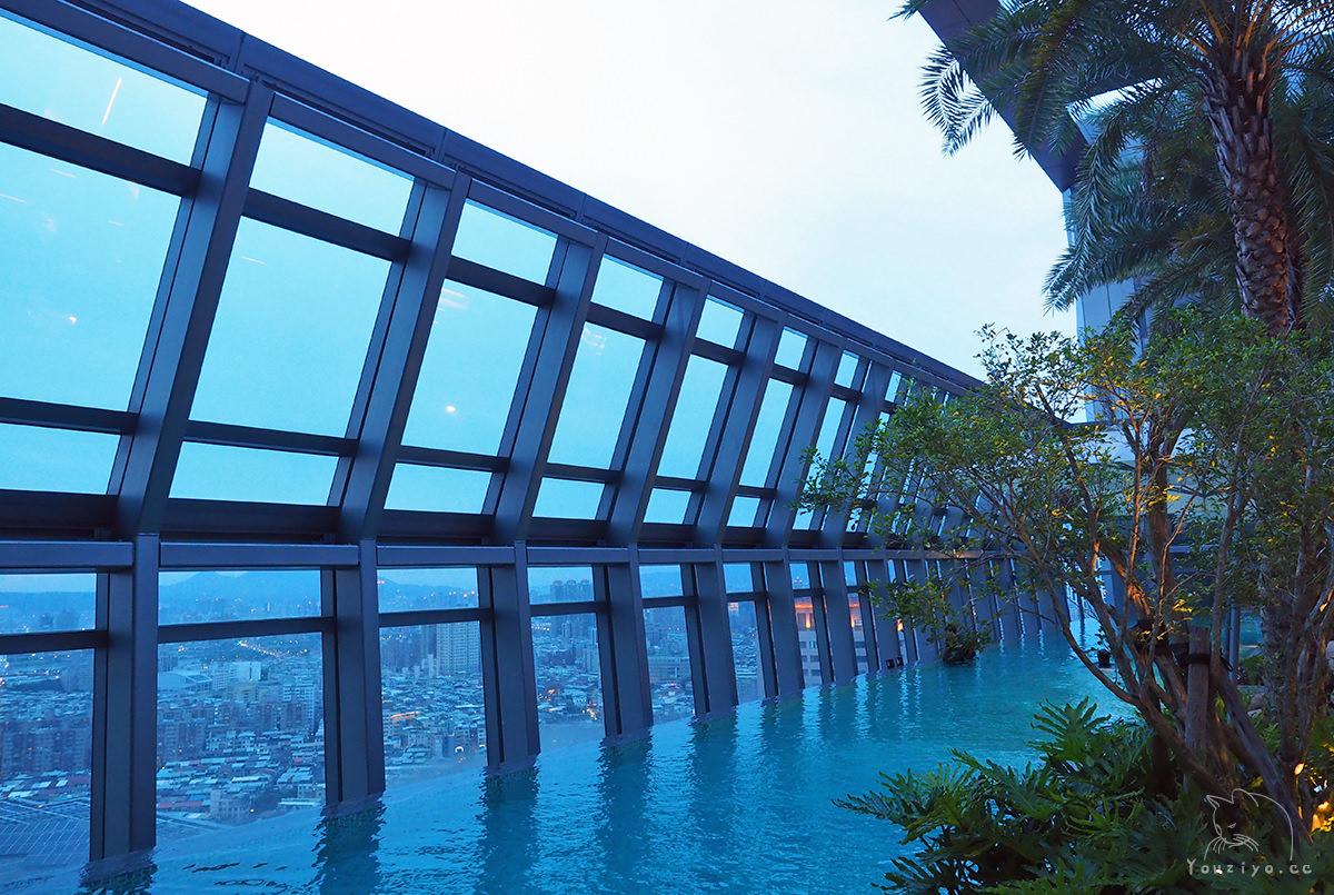 台北新板希爾頓酒店 Hilton Taipei Sinban 絕美無邊際泳池與美食雙重享受