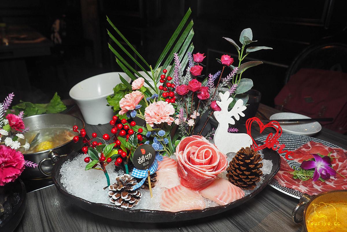 胡叻南洋精緻火鍋 道地馬來西亞風味湯頭 華麗歐式宮廷風裝潢︱新莊火鍋