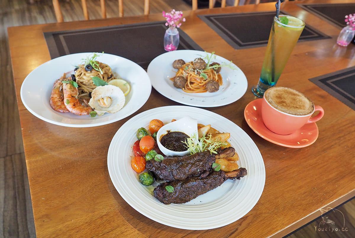 迷迭香花園 隱身巷弄美味歐陸料理 情侶約會浪漫推薦︱中山區咖啡廳推薦