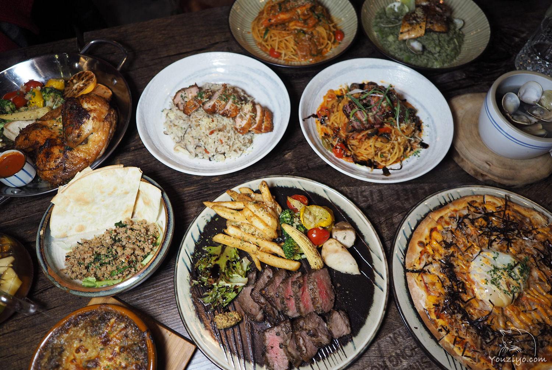 三峽北大特區 中西合併的異國特色料理 小聚餐酒館