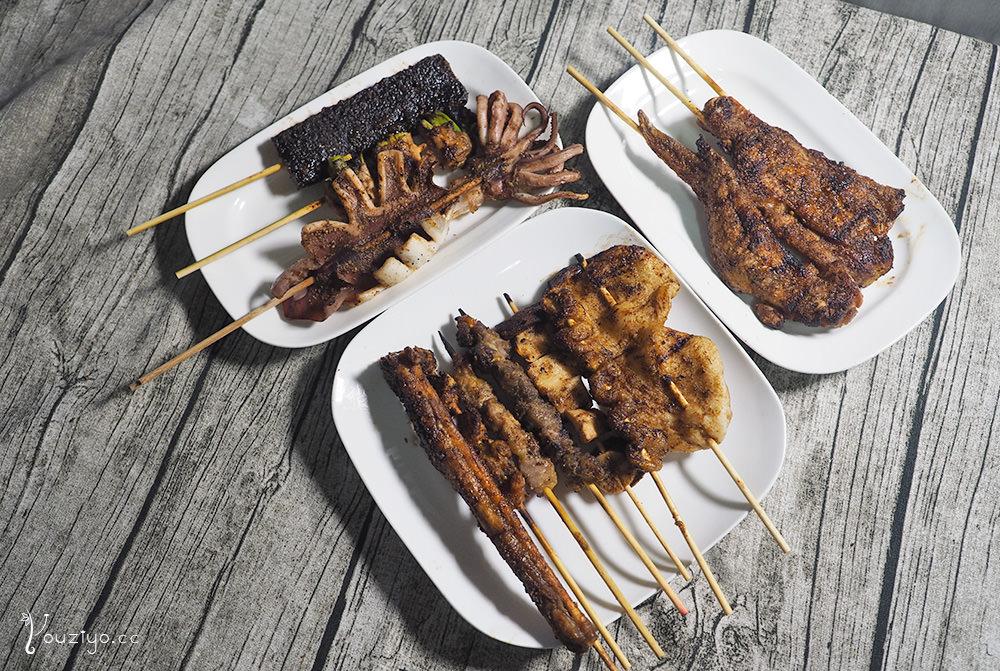 焦糖楓日式無烟撒粉串燒 通化店 美食節目力薦平價燒烤